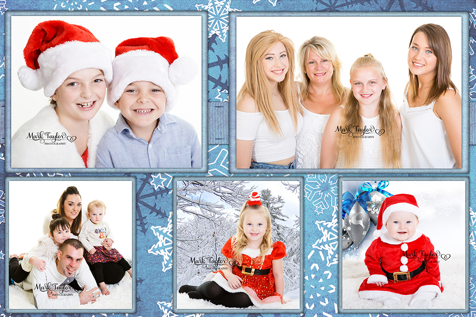 CHRISTMAS PORTRAITS WESTON SUPER MARE