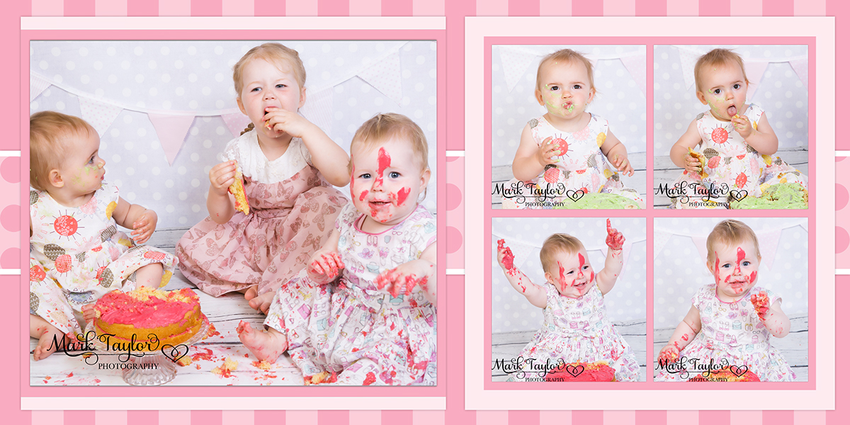 Photography Cake smash Weston Super Mare