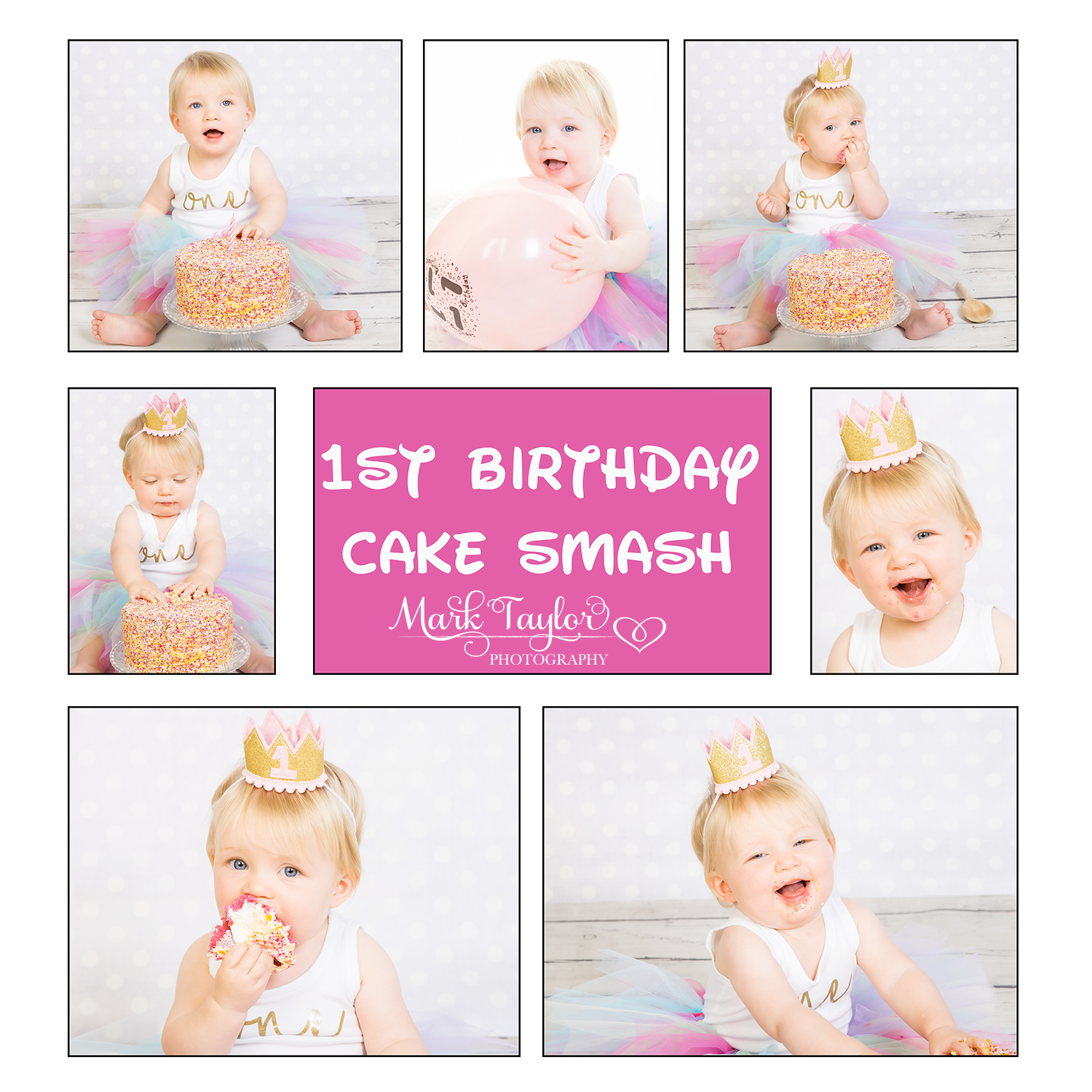 birthday cake smash photography